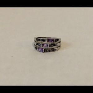 Antique/Vintage Looking February Birthstone Ring